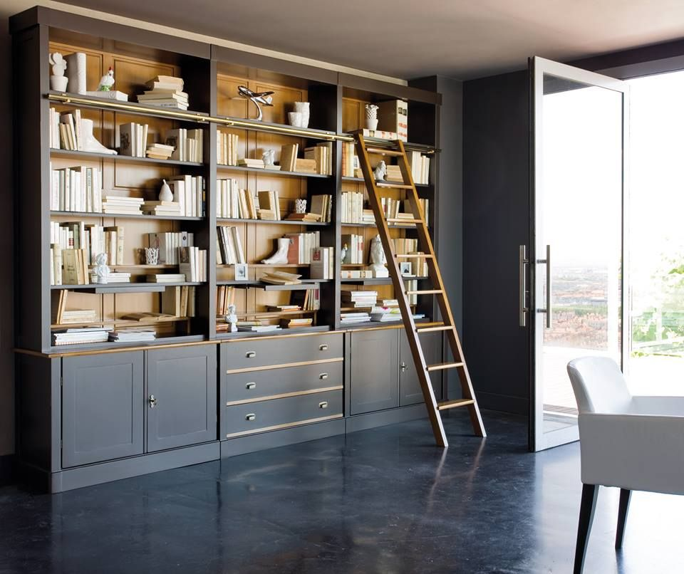 Elegant Grange Furniture Inc. From France. Library Allure.