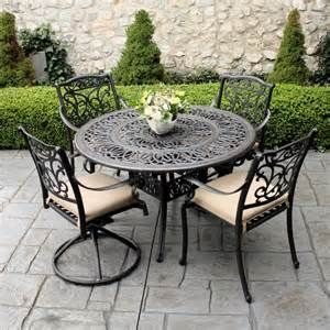 Iron Wrought Patio Furniture