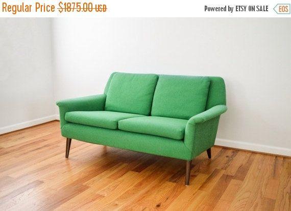 Pleasing Mid Century Sofa Loveseat Couch Beautiful Swedish Mid Uwap Interior Chair Design Uwaporg