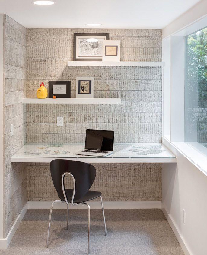 Варианты отделки стен — Наши дома | Подвесные полки, Декор
