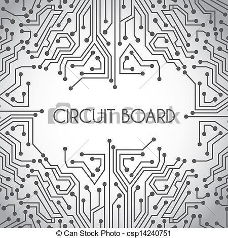 clipart vector of circuit board design circuit board design over rh pinterest com