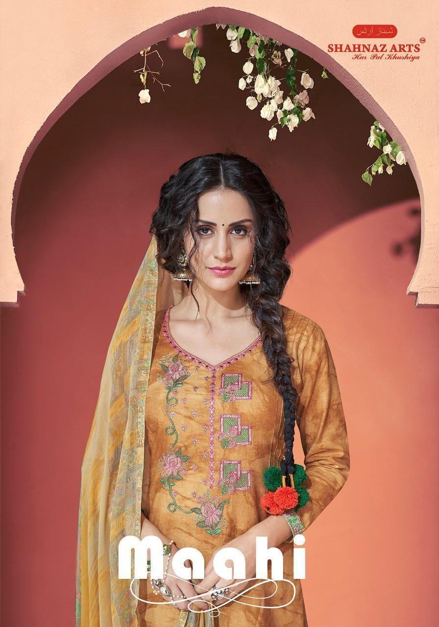 02ba1f8c43 shahnaz arts maahi colorful fancy salwaar suits catalog at reasonable rate  https://www