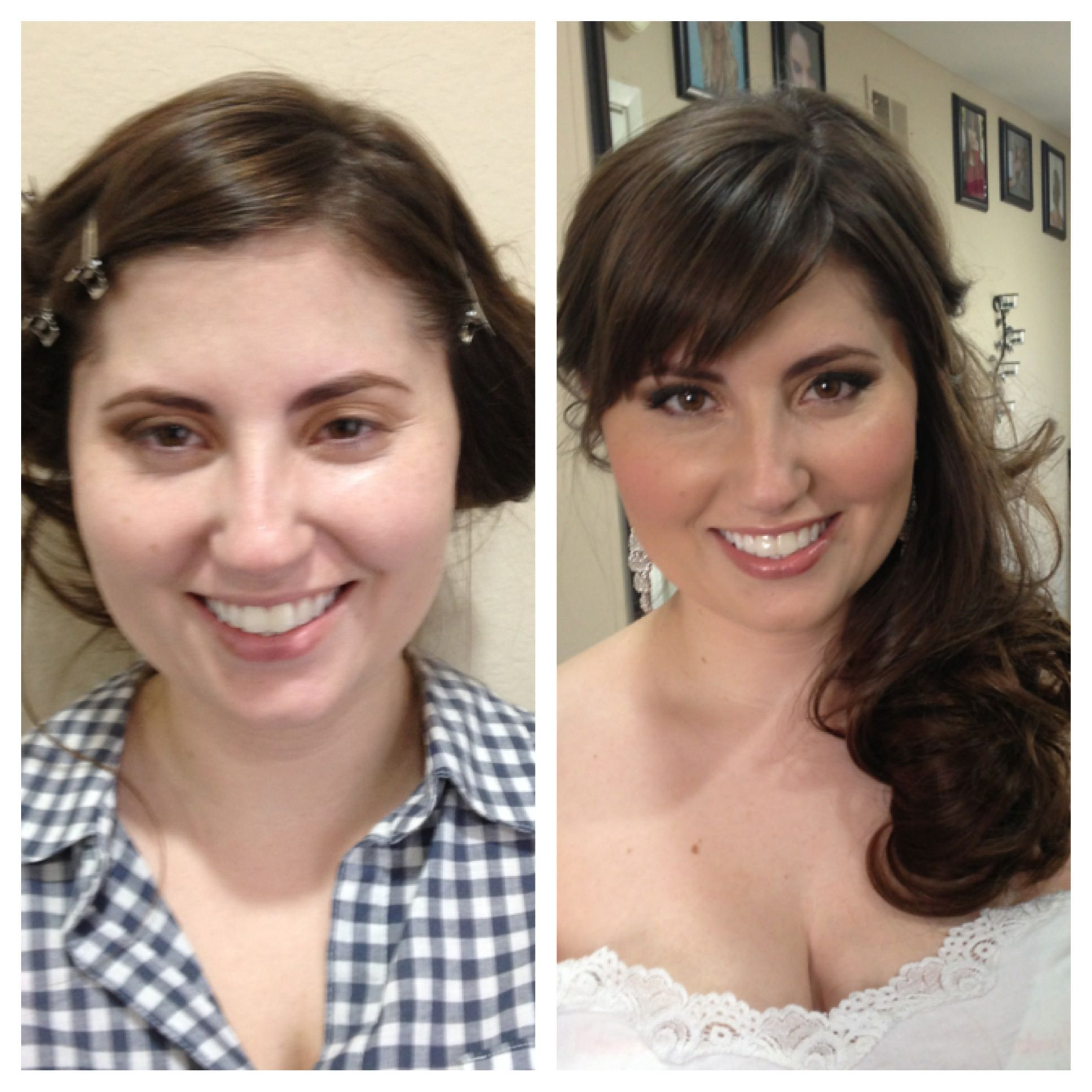Bridal Hair And Makeup Before And After Elite Makeup Designs Calabasas Ca Http Www Elitemakeupd Bridal Hair And Makeup Hair Makeup Makeup Portfolio