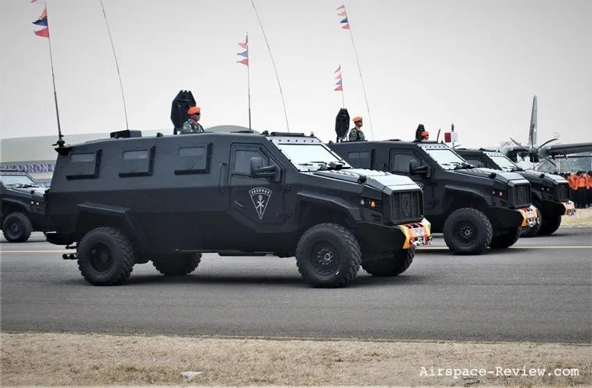Tugasanda Turangga Mrap At Tni Anniversary 2019 Militer Kendaraan Pertempuran