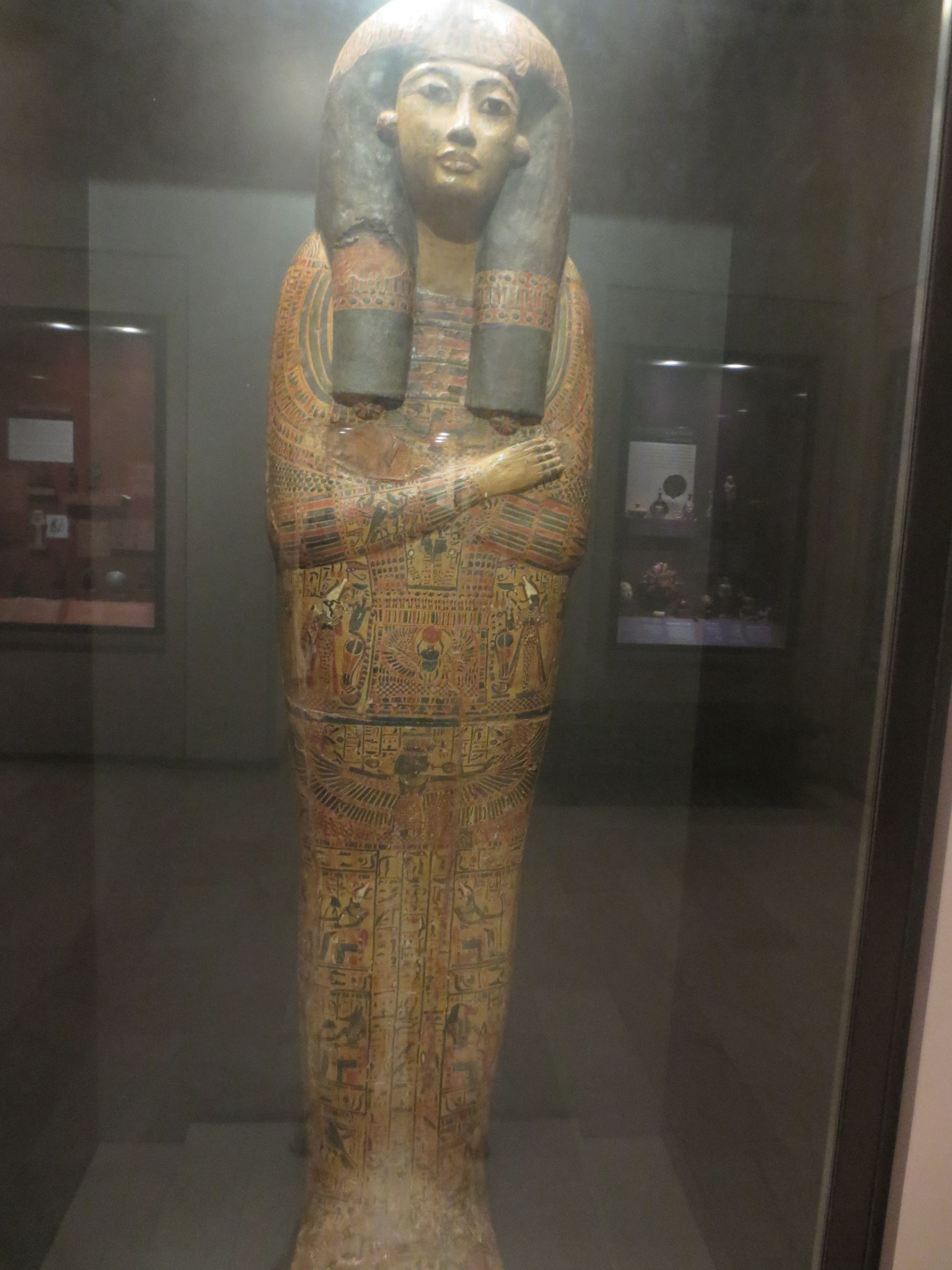 The Coffin Lid Of Henet Mer Songstress Of Amun Amazing Piece In The Egyptian Section Of The