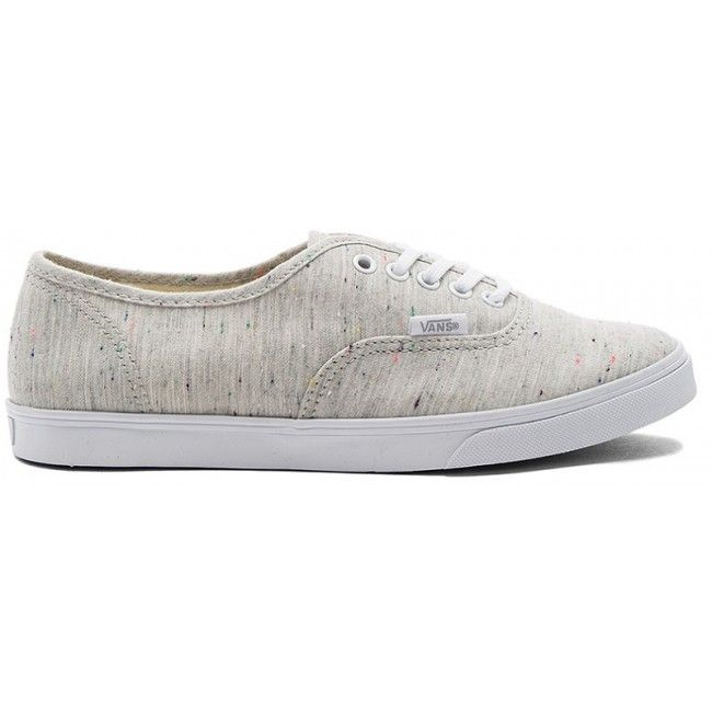 7bd9ed9287 Vans Speckle Jersey Authentic Lo Pro White Sneakers