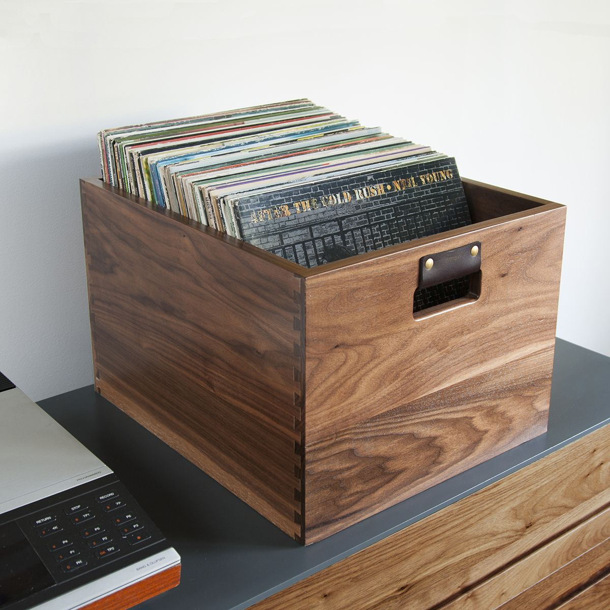 Vinyl Record Storage Dovetail Record Crate Symbol Audio Record Crate Vinyl Storage Record Storage