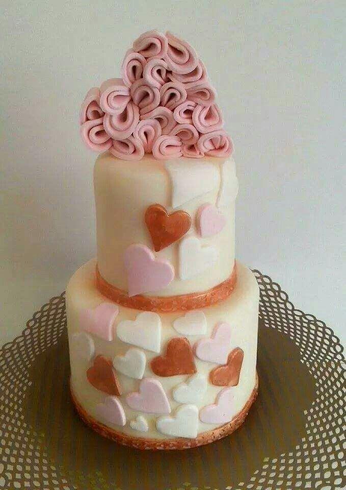 Valentinstag Torte Torten Dekorieren Modellieren Torten