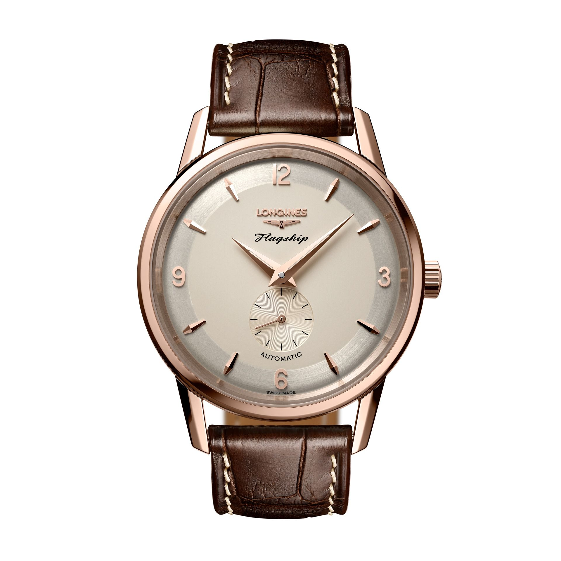 Longines Flagship Heritage 60th Anniversary 1957-2017 | #Longines | #38Mm, #39Mm, #Automatic, #Flagship, #MEN, #MovementLonginesL609, #PriceBetween1000And2500, #SwissMade https://www.yourwatchhub.com/longines/longines-flagship-heritage-60th-anniversary-1957-2017/