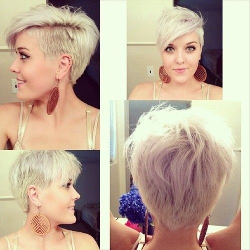 Short Shaved Hairstyles shaved short haircut for blonde hair Shaved Haircuts For Short Hair Thick Hairstyles For Women