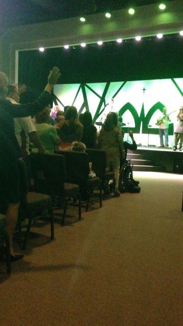 Praise and worship at Destiny Worship Center Panama City Beach, FL  Sunday September 7, 2014