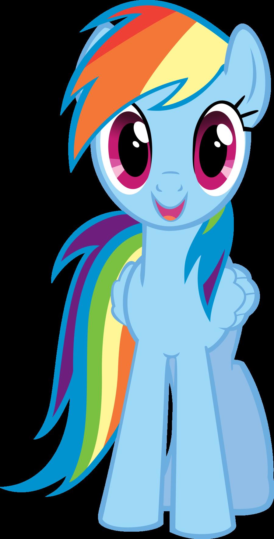 Rainbow Dash Rainbow Dash Little Pony My Little Pony Birthday