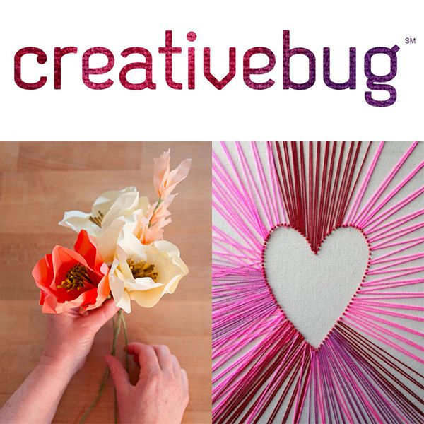 recibe Crafty con proyectos libres de Creativebug