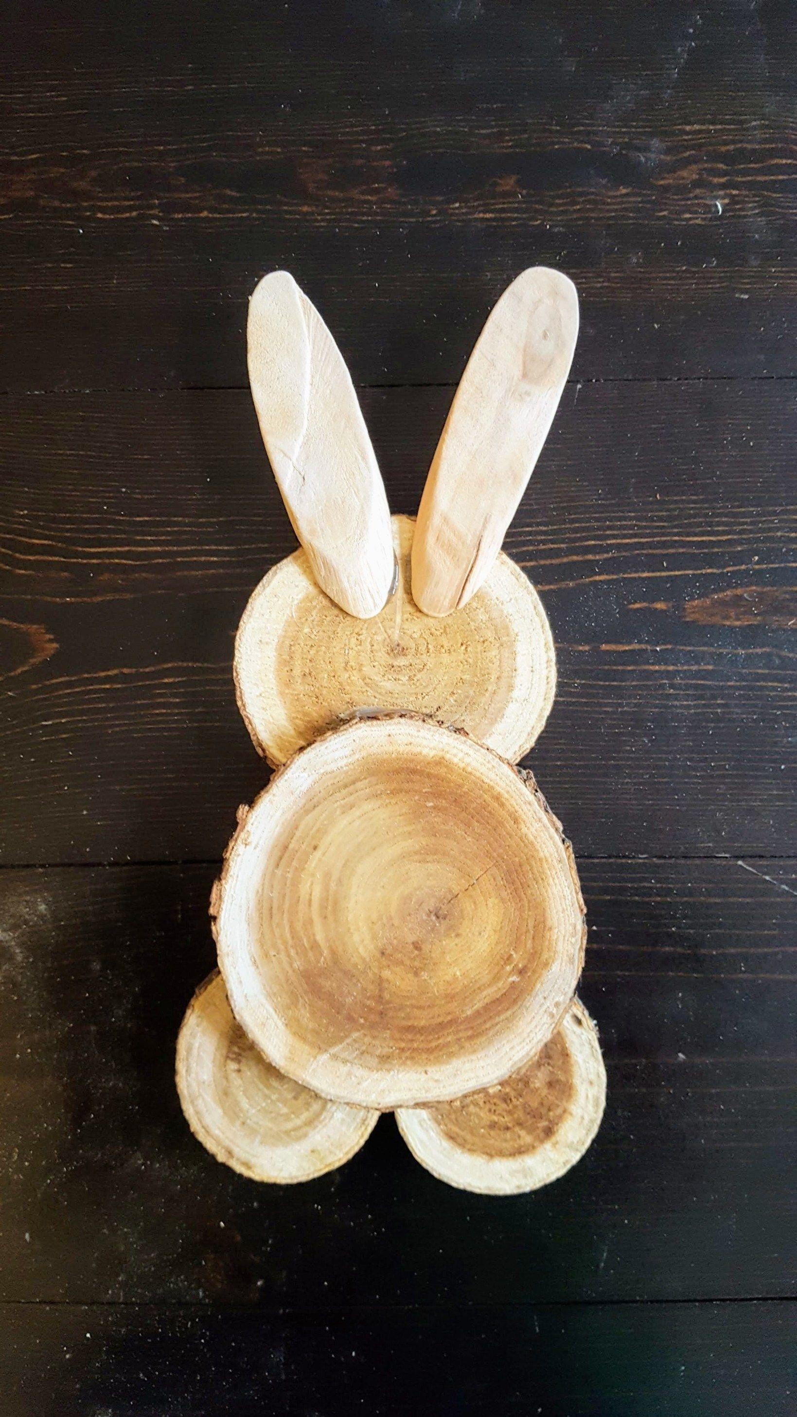 Photo of Farmhouse Easter Decor – DIY Scrap Wood Bunny |