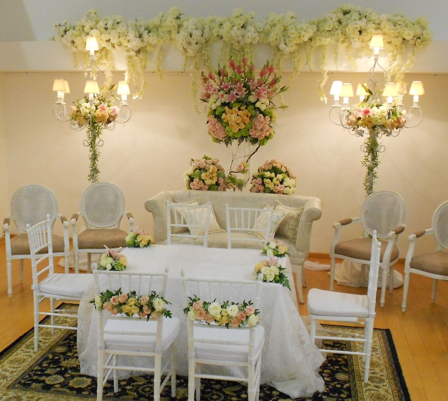 Pelaminan wedding idea pinterest decoration wedding and weddings pelaminan wedding reception tablesdecor weddingwedding decorationsgreen junglespirit Images