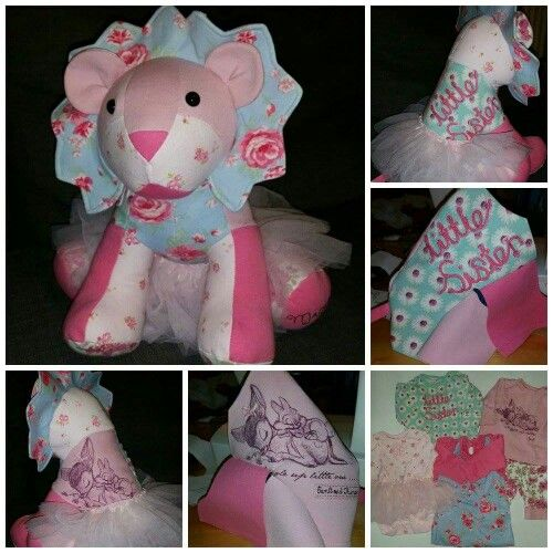 An adorable little lady all ready for her new home .... remember to pop over to www.facebook.com/funkymakesandkeepsakes