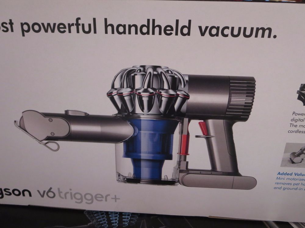 Dyson V6 Trigger Cordless Handheld Vacuum With Hepa Filter Tools Trigger Plus Dyson Handheld Vacuum Hepa Vacuum Hepa Filter