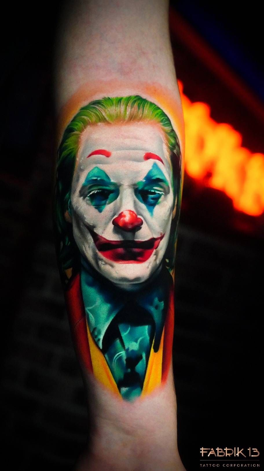 The Best Tattoos With Joaquin Phoenixs Joker Cool Tattoos