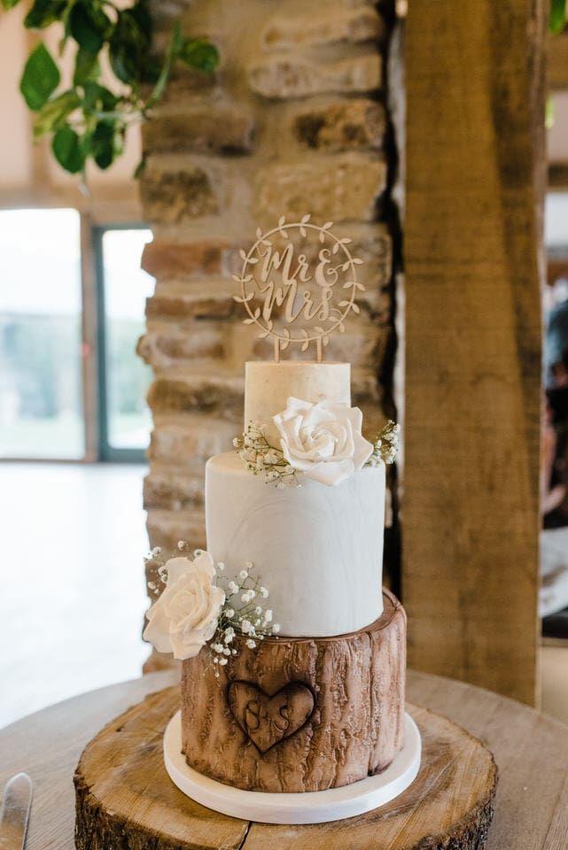 Wedding Cake Inspiration Sheffield Wedding Photographer Winter Wedding Cake Wedding Cake Rustic Barn Wedding Cakes