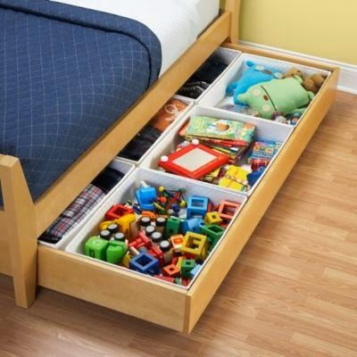 toy storage ideas under bed for small kids room | Projects to Try ...