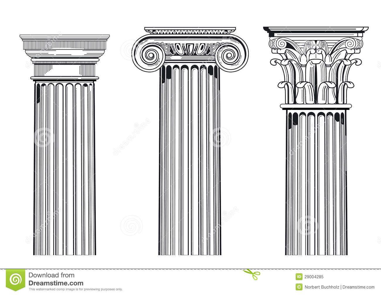 Doric Ionic Corinthian Orders
