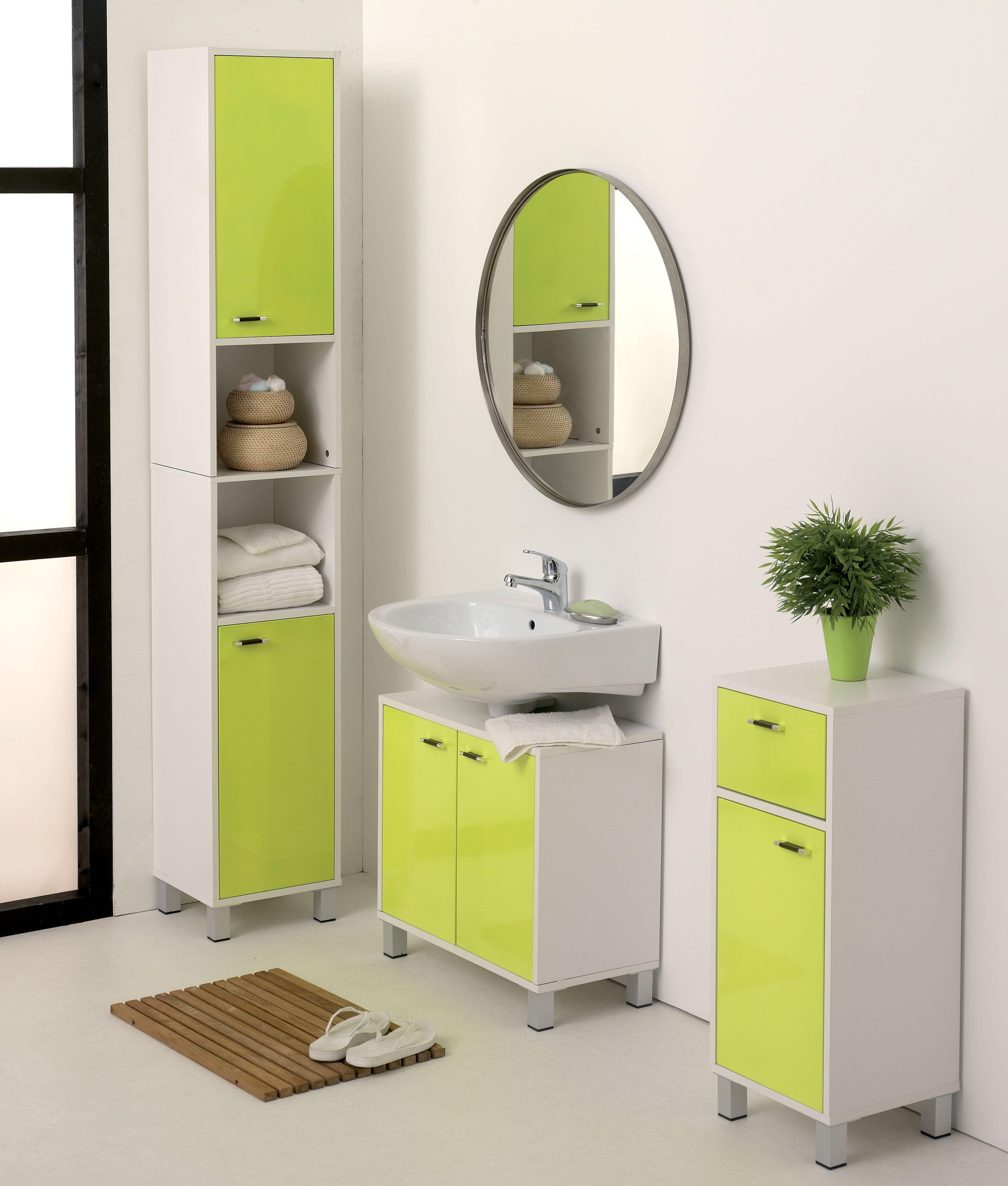 salle de bain verte et blanche zen et pratique centrakor. Black Bedroom Furniture Sets. Home Design Ideas