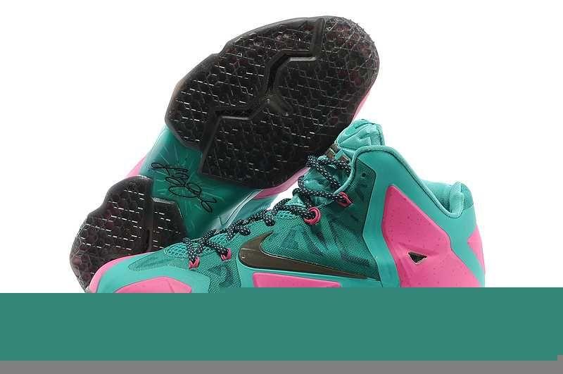 big sale 060fa d2048 1914   Nike Lebron Xi Herr Grön SE215704WVobGns