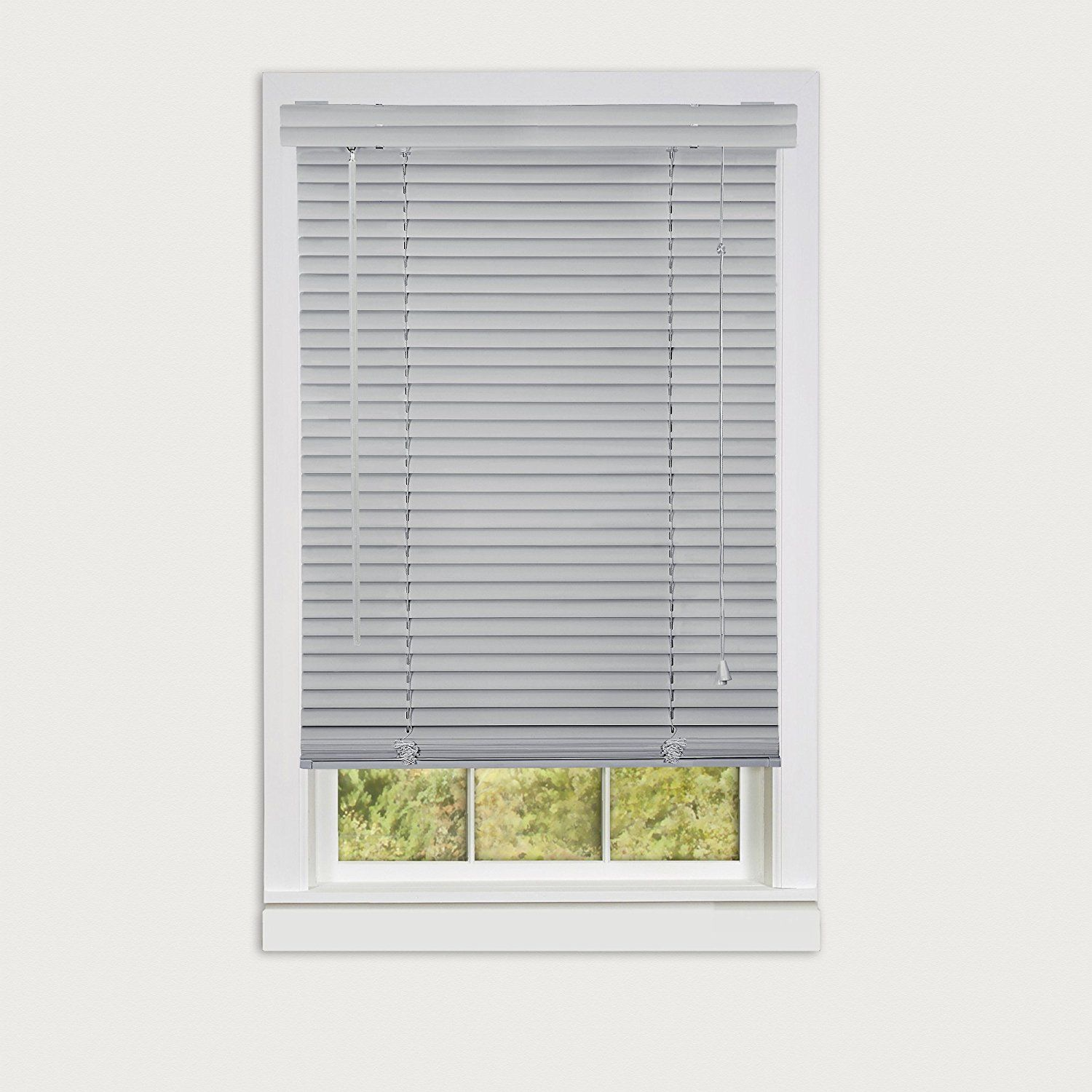 Achim Home Furnishings Morning Star 1 Vinyl Mini Blind 27 X 64 Grey Continue To The Product At The Image Link Affil Blinds Mini Blinds Venetian Blinds