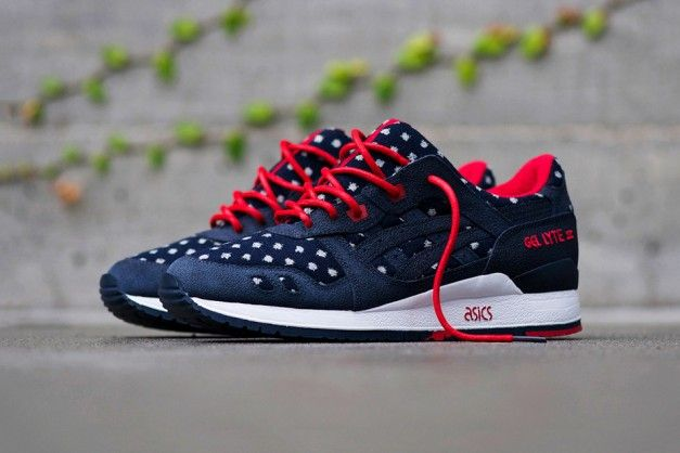 BAIT x ASICS Gel Lyte III – Basics Model-003 Nippon Blues -Chubster  favourite