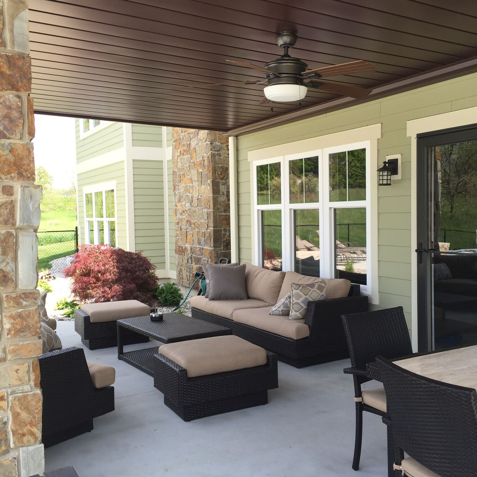 Ceiling Finish Under Your Deck