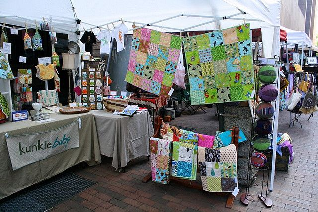 Independence Day Show Craft Booth Quilts Decor Ideas