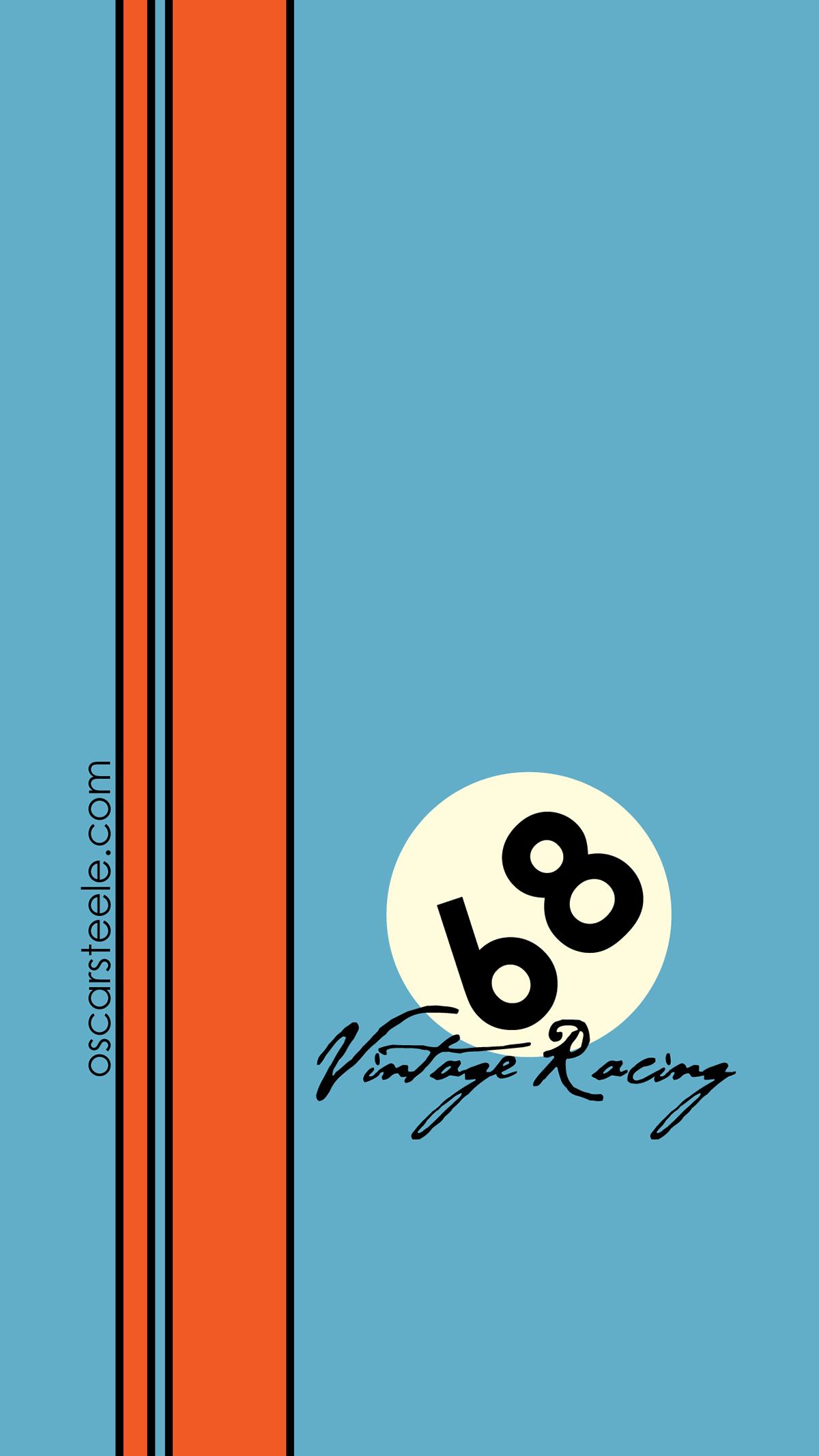 68 Vintage Racing Iphone Ios 6 Plus Wallpaper On Behance Gulf