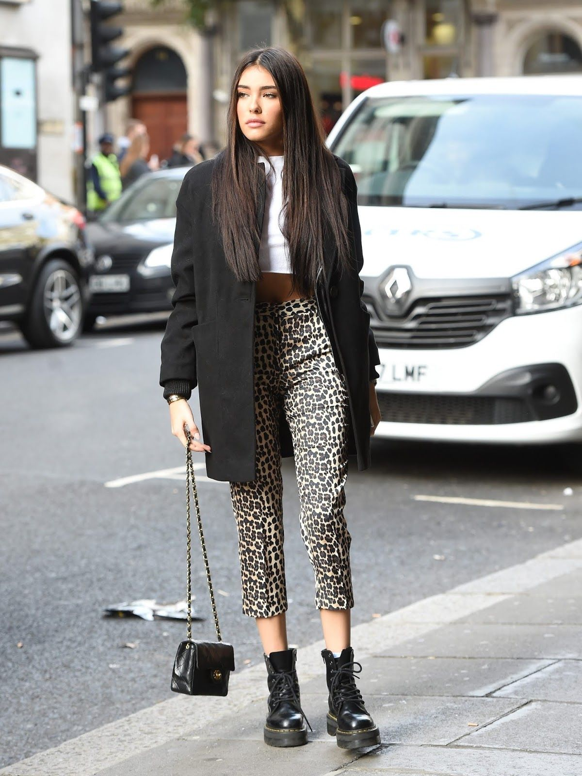 538773f2310d Madison Beer leaving the VEVO offices in London - 23 Oct 2018 – Celeb  Central