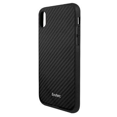 fbc456e365f Evutec Apple iPhone XS Max Aer Karbon Case (with Car Vent Mount) - Black