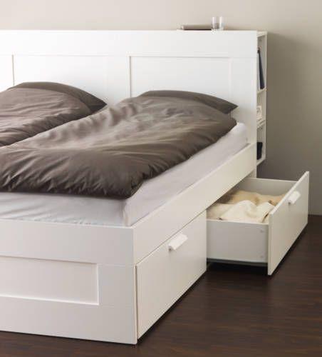 Ikea Catalogue 2015 Storage In Bedhead Deco Chambre Lit Deco