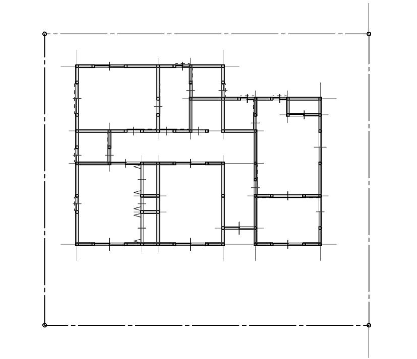 二級建築士step製図講座 垂直部分の壁 開口部では定規を左から右に動かしながら書き進めます この時 壁の線は太線で 開口部の見えがかり線は細線で線の強弱をつけて書きます 図面を汚さずに合理的に書くには このように定規を上から下 左から右に一度動かすこと