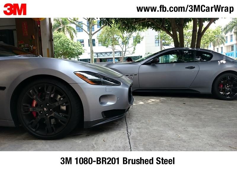 Pin By Iss Mart Products On Car Wraps Car Wrap Brushed Steel Bmw Car