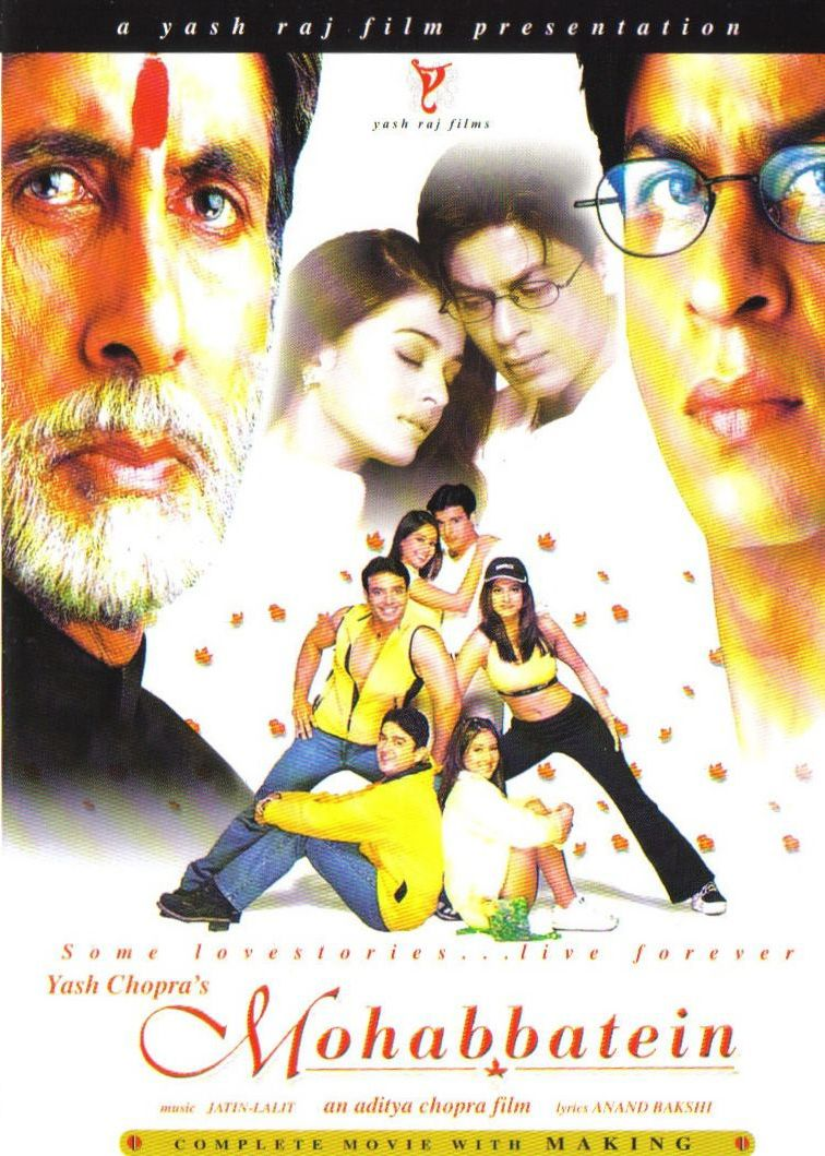 Mohabbatein (2000) 1080p BluRay x265 HEVC 10bit AAC 5.1 Hindi Natty