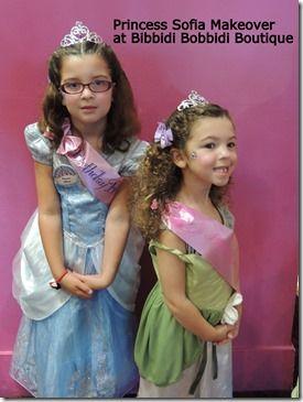 Sofia The First Makeover At Bibbidi Bobbidi Boutique Disney