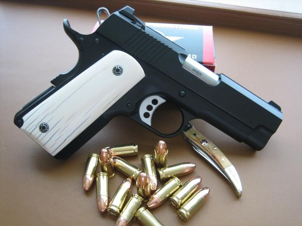 Dan Wesson CCO with elephant ivory grips  | Awesome Guns