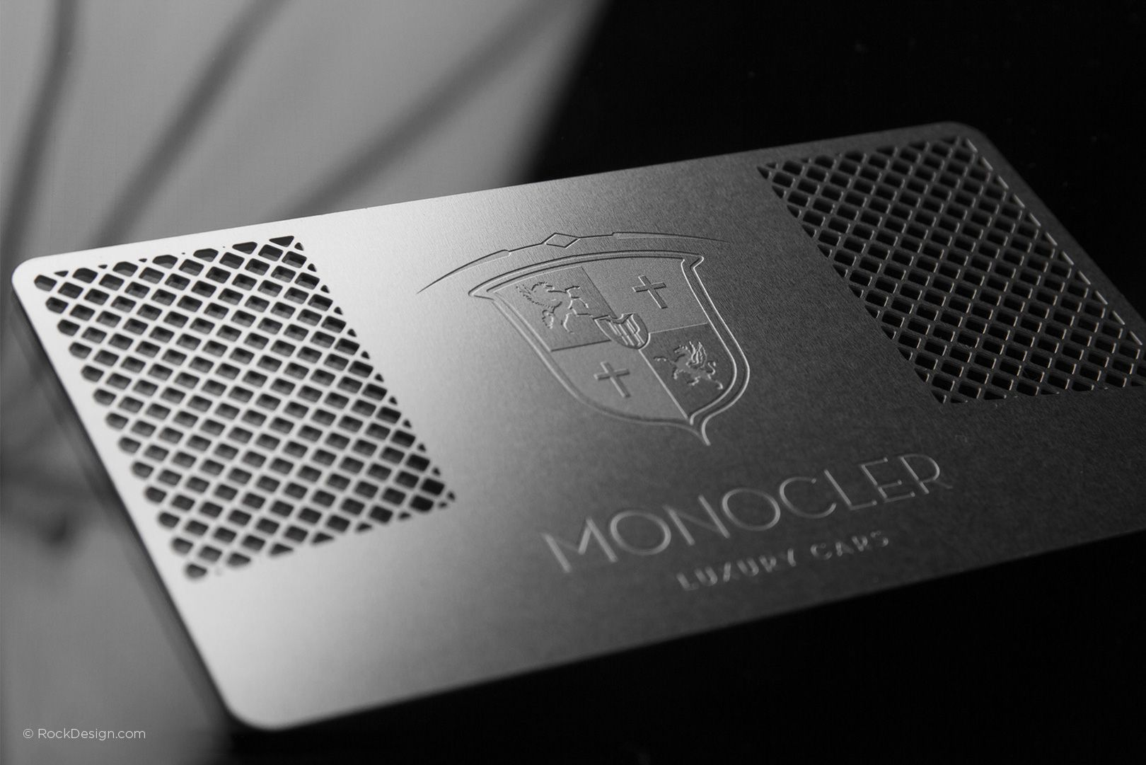 Professional Modern Stainless Steel Business Card Monocler