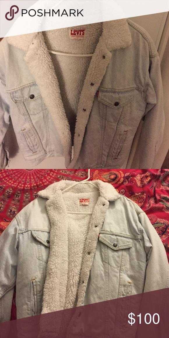 Denim jacket Light jean jacket Levi's Jackets & Coats Jean Jackets