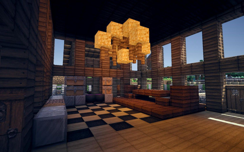 Interior Design Minecraft Houses Minecraft Wooden House Minecraft Houses Survival