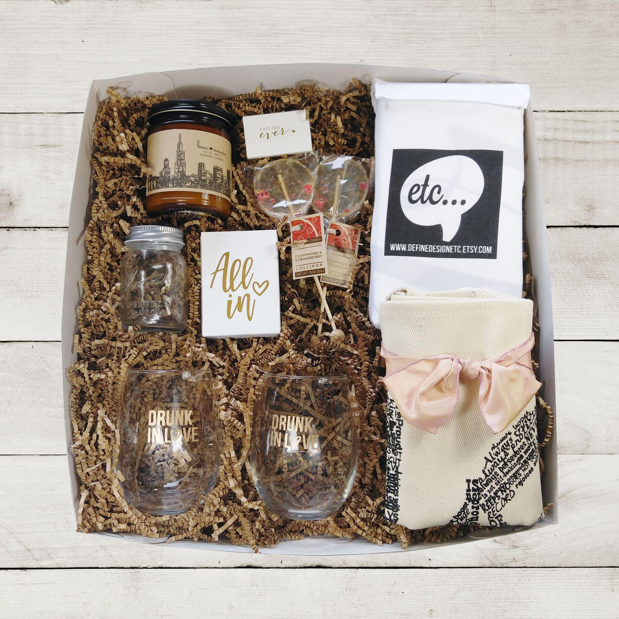 Wedding Gift Set Wedding Gift Box Wedding Package Honeymoon Gift Package Bride Gift Bridal Shower Wedding Gift Boxes Wedding Gift Set Gifts