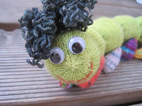 Ravelry: Apfelwurm mit Socken pattern by DaniEla