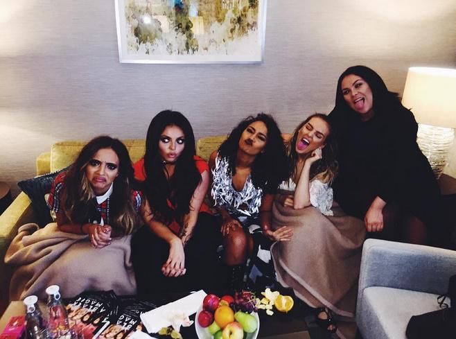 Little Mix hoy en Suecia