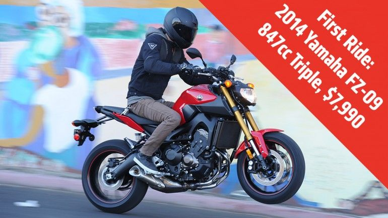 first ride 2014 yamaha fz 09 review motorcycle parts and rh pinterest com