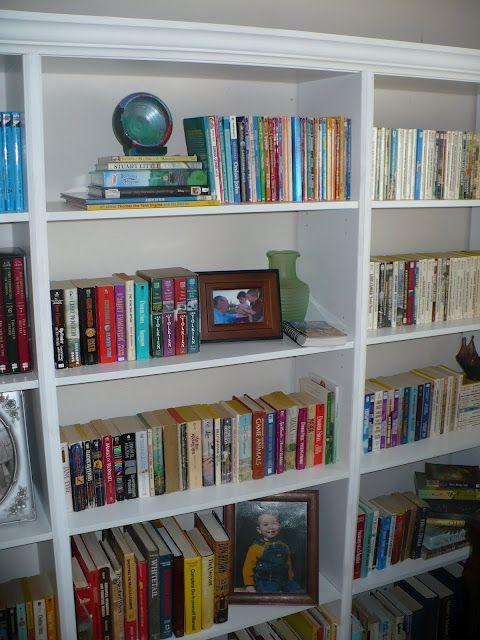 turn cheap walmart bookcases into built ins diy home projects in rh pinterest com tall bookshelves cheap cheapest bookshelf