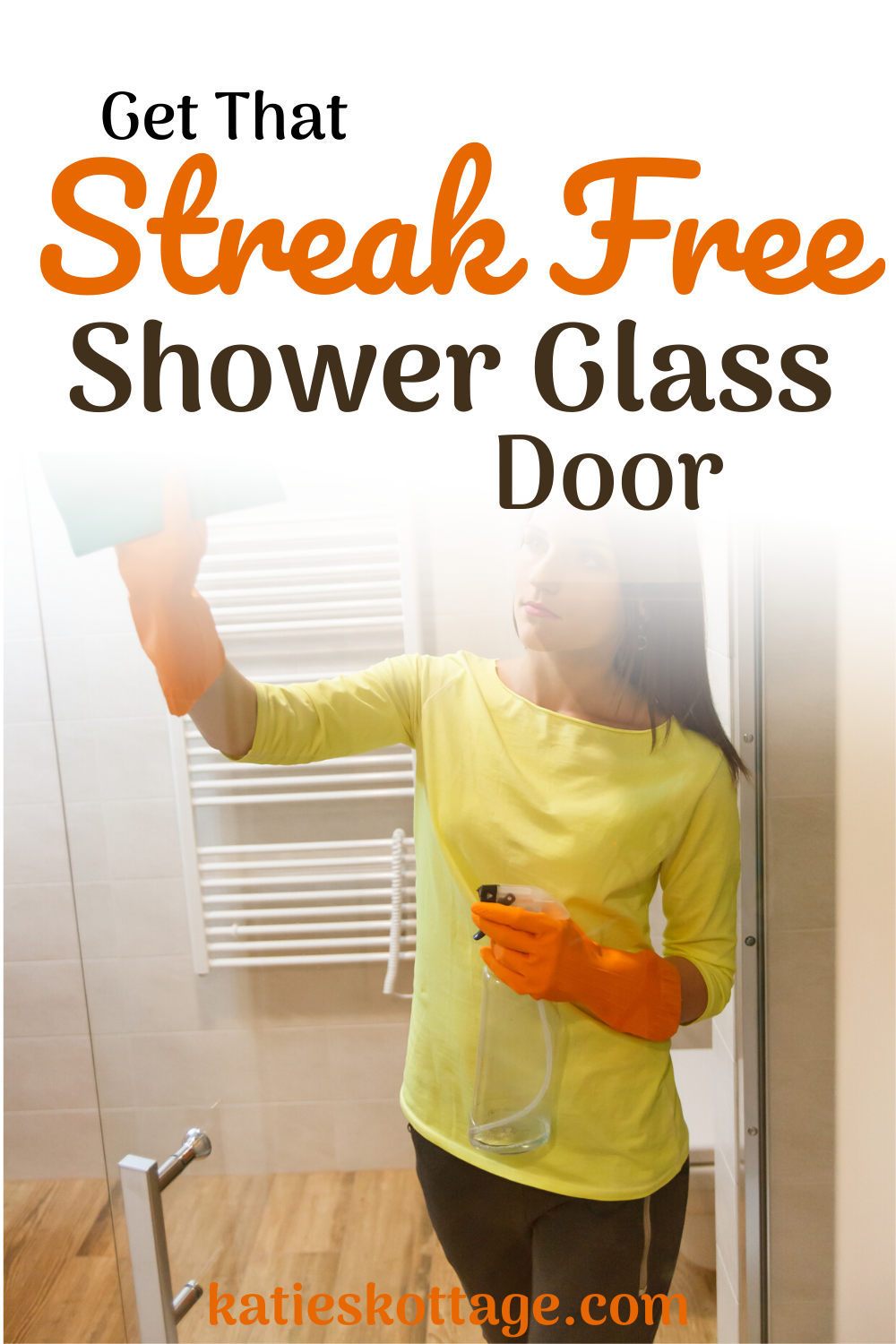 How To Deep Clean A Bathroom In 2020 With Images Gl Shower