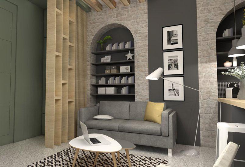 Petite surface architecte interieur meuble living d co - Architecte interieur paris petite surface ...